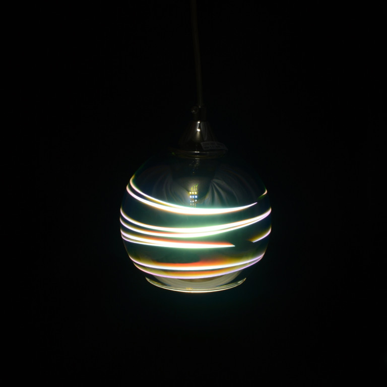 "MARIO-200 ""Hit-3D"" chrom lampa zwis E27-1*40W"
