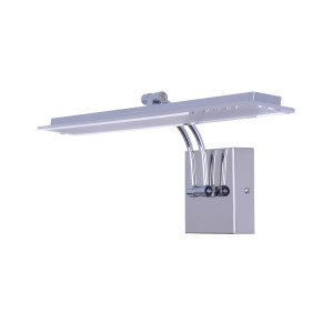 VINCENT-650CX chrom lampa kinkiet LED lustro
