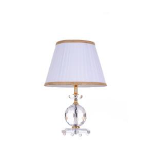 AKITA złota lampa stołowa 1*E27