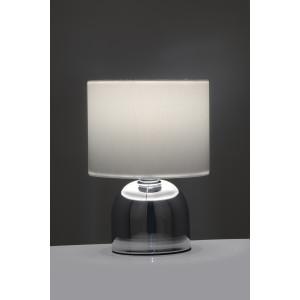 ALBA-W biały+chrom lampa stołowa