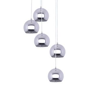 ARTEMIDA-5 chrom lampa zwis 5*GU10