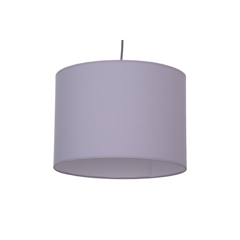 AZZADE-350 grey abażur materiał zwis