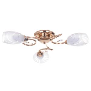 CARMEN-3 złoty lampa sufitowa żyrandol