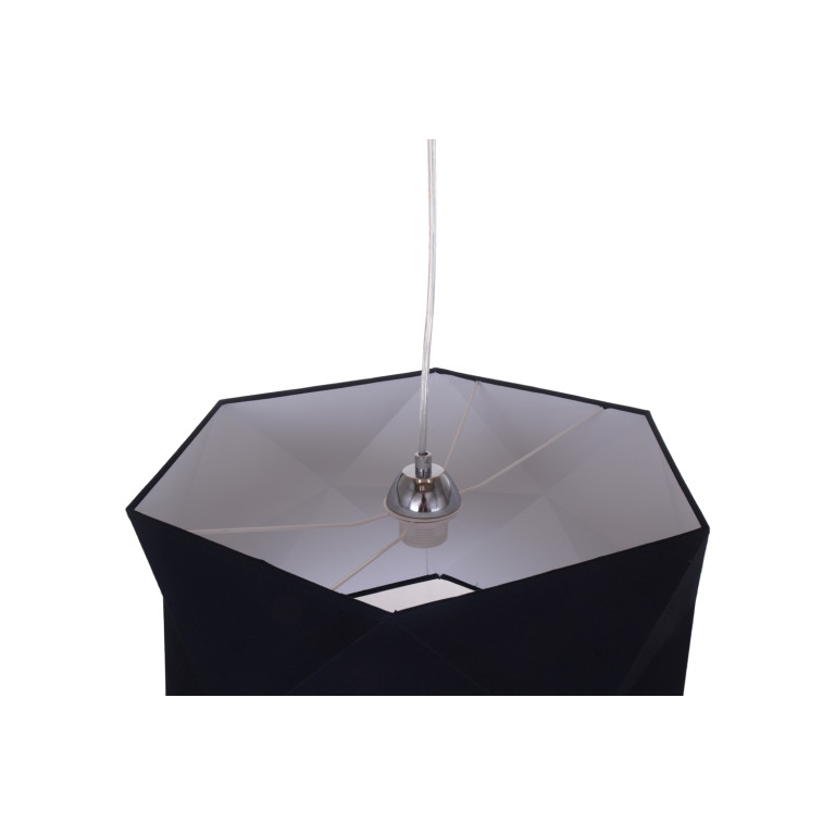 CASELLA black lampa wisząca abażur