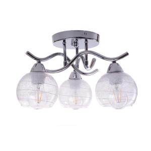 CASERTA-3 chrom lampa sufitowa