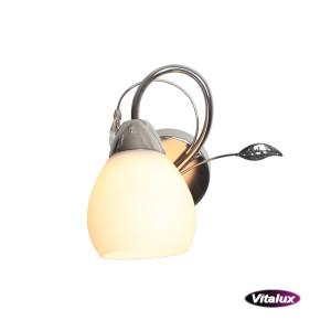 CAZZAGO-1 satin nickel lampa