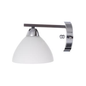 CHLOE-1 chrom+czarny granit lampa ścienna