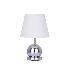 CLETO-W biały+chrom lampa stołowa (touch)