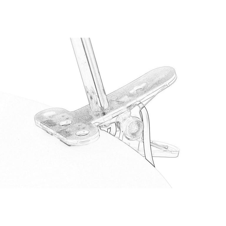 CSL-042 biała lampka biurkowa klips