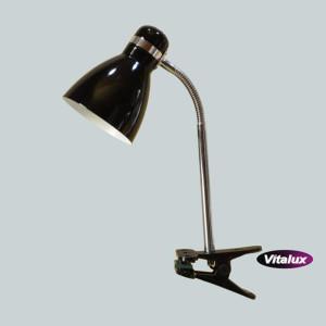 CSL-042 czarna lampka biurkowa klips