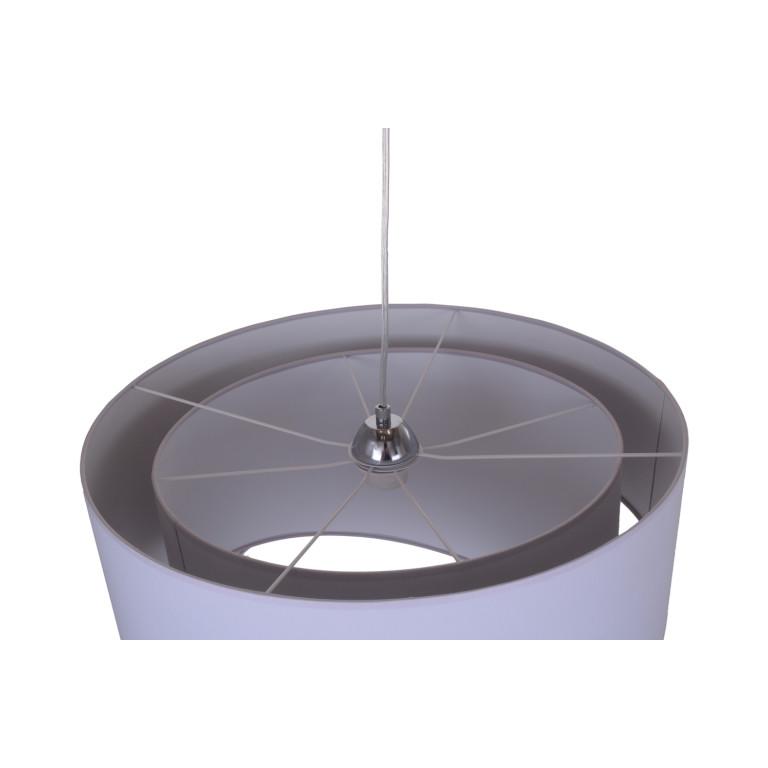 DE LUCA grey lampa wisząca abażur