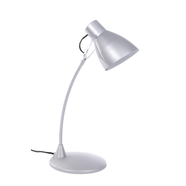 DSL-502 srebrna lampa biurkowa classic