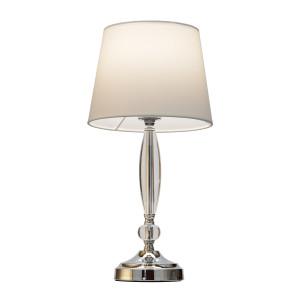 ELARA biały lampa stołowa E27-1*40W