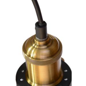 ENZO lampa zwis pojedynczy klosz szkło przezrocz.