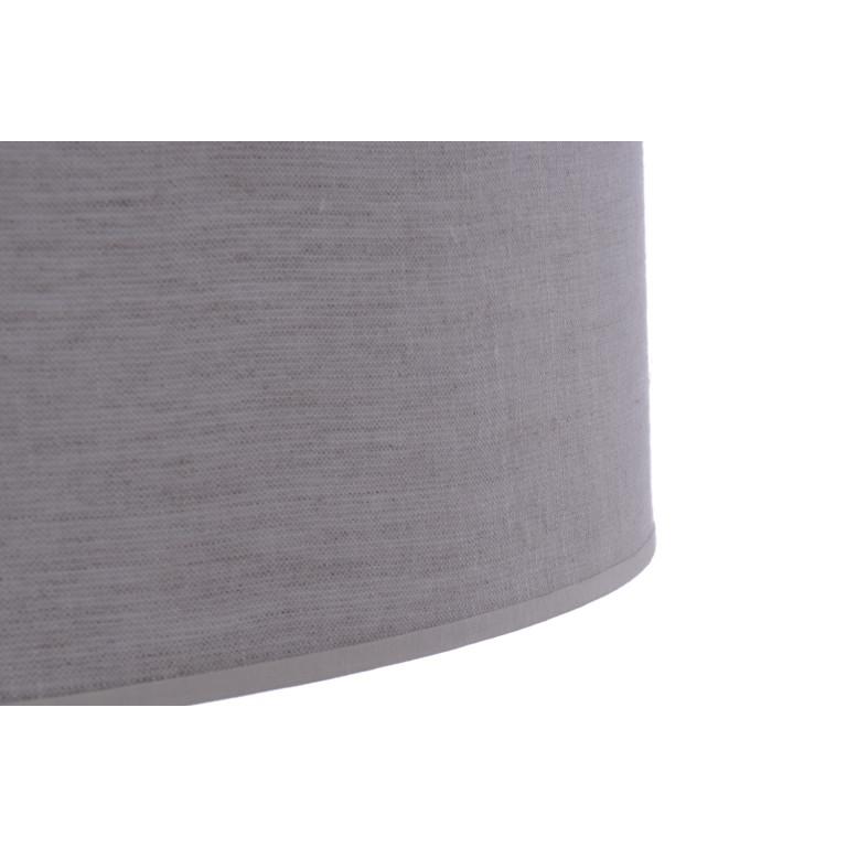 FONTANE-400 grey abażur plafon textil  LED