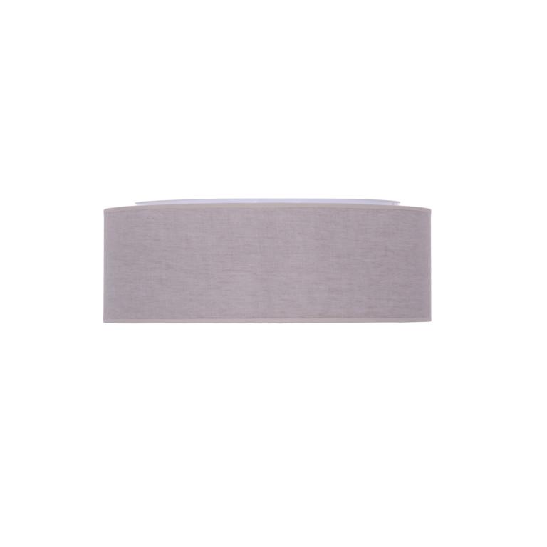 FONTANE-500 grey abażur plafon textil LED