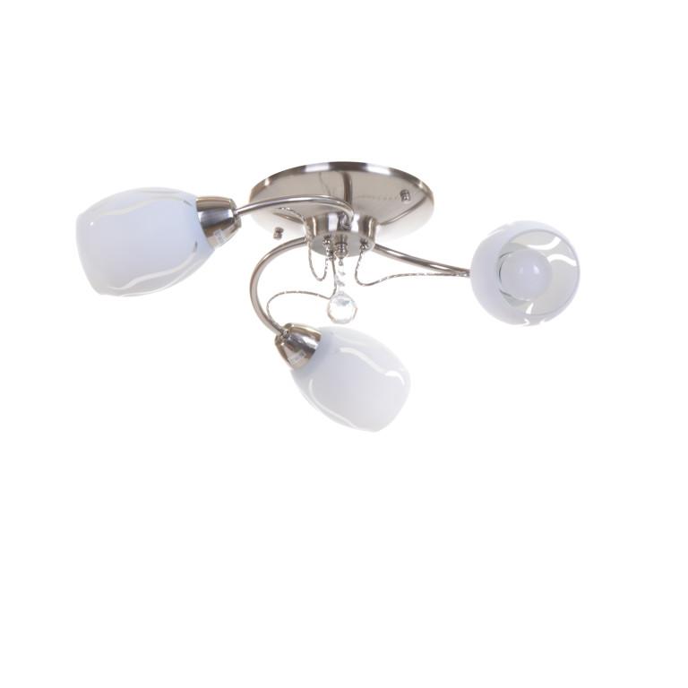 GAETA-3 satynowy nikiel lampa