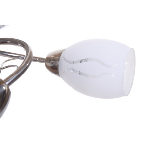 GAETA-5 satynowy nikiel lampa