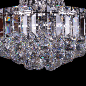 HAWANA chrom lampa zwis 6*E14