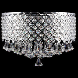 IBIZA 400 chrom lampa zwis 4*E14