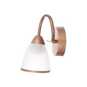 KALISTA-1/W brązowa miedź lampa ścienna