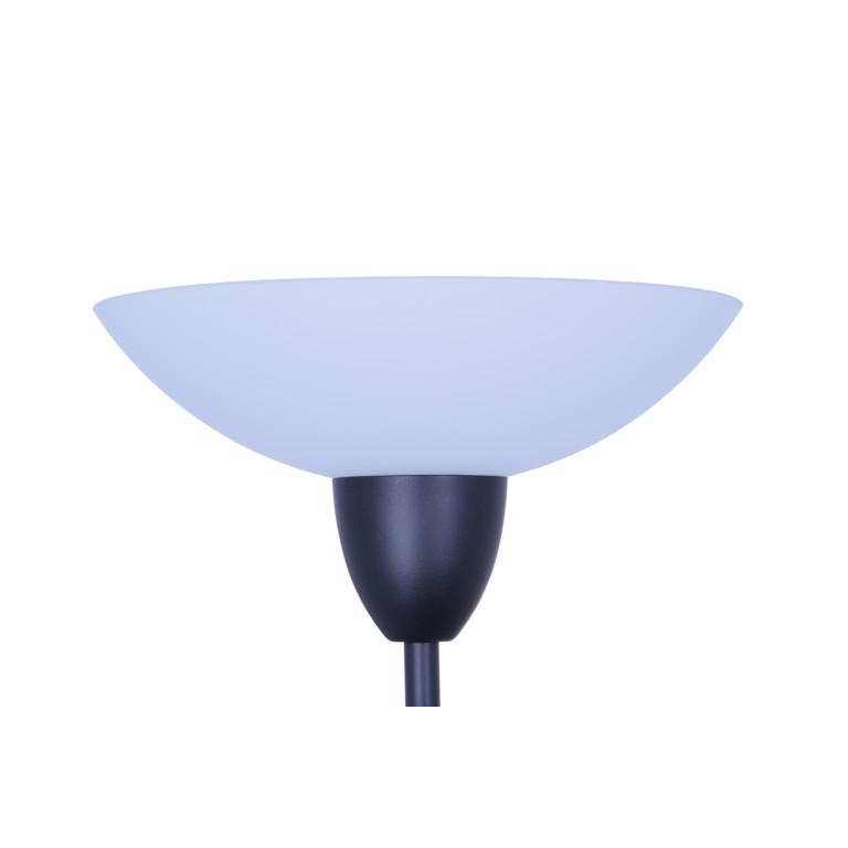 KEVIN black matt lampa podłogowa E14/E27