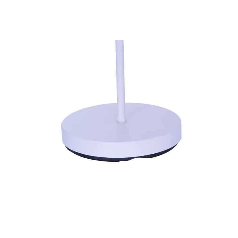 KEVIN white matt lampa podłogowa E14/E27