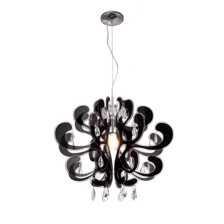 LIRA czarny akryl, lampa zwis E27-1*40W