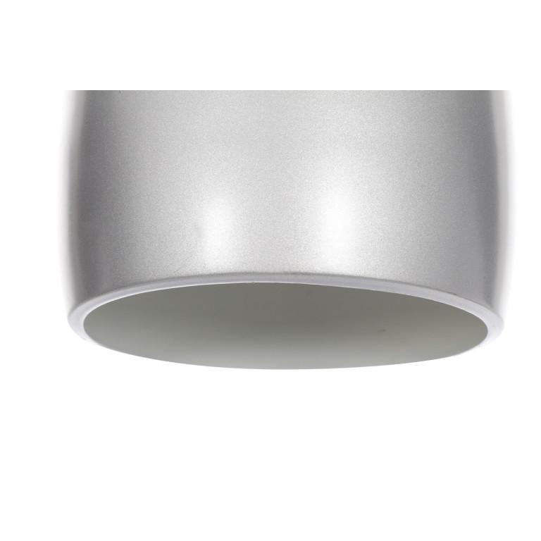 LOM-1 srebrna lampa wisząca kuchnia lobby 1xE14