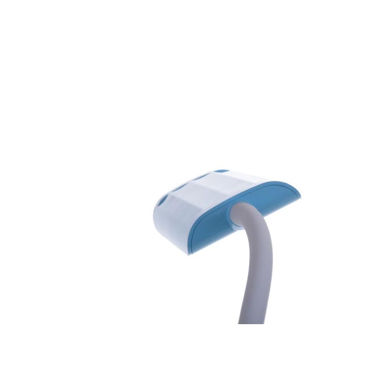 MT-302 LED 5W 6000K niebiesk lampka biurkowa dotyk