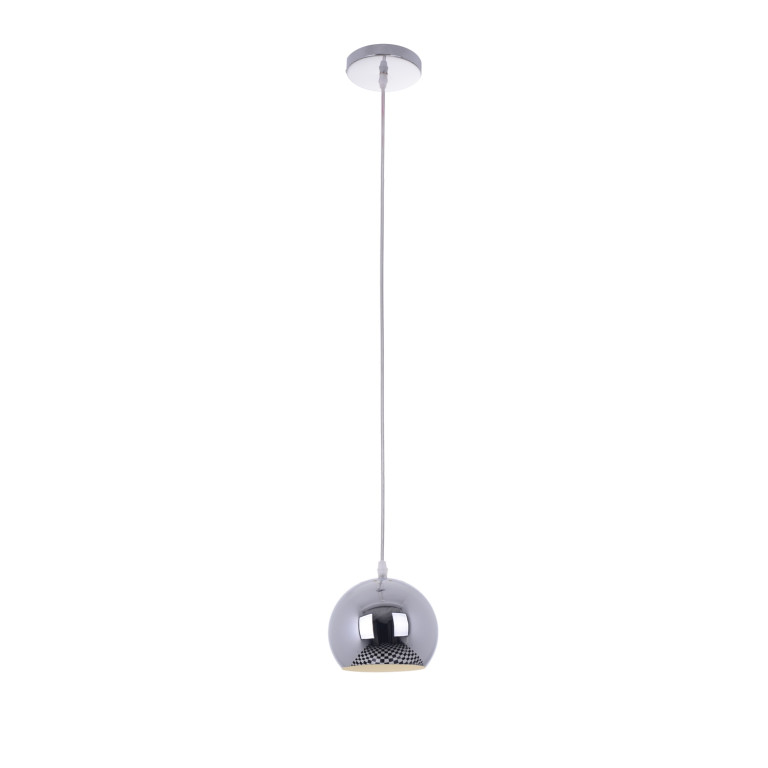 NEVA-1 chrom kula lampa zwis E27-1*40W