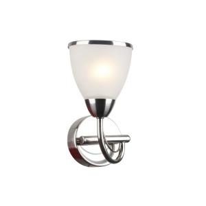 NILA-1/W satynowy nikiel lampa ścienna