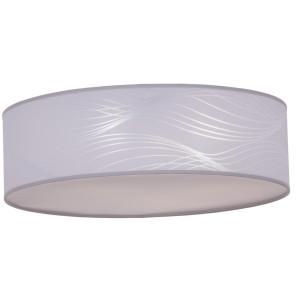PERIA-400 white abażur plafon LED