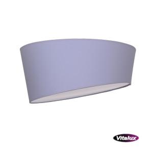 RAGAZZA-450 grey plafon abażur LED