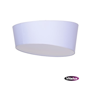 RAGAZZA-450 white plafon abażur LED