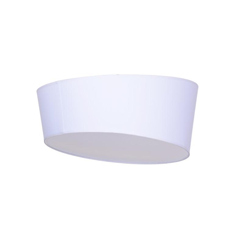RAGAZZA-450 white plafon abażur
