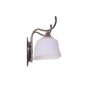 RODEZ-2 antique brass lampa kinkiet
