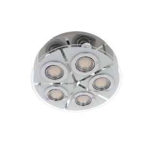 SANTIAGO-5 lampa plafon LED GU10 5x6W b.ciepła