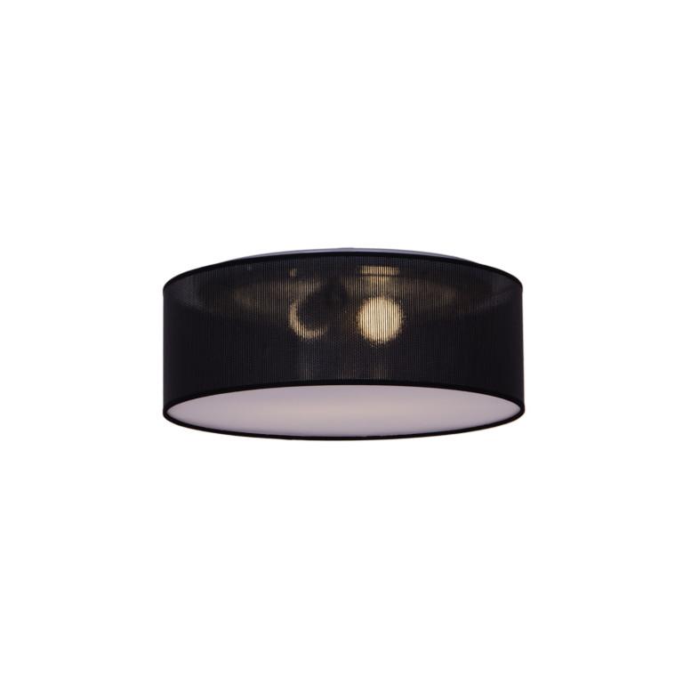 SAVERIA-500 black abażur ażurowy plafon