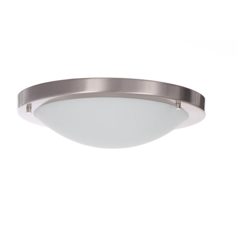 TOM30 satynowy nikiel lampa sufitowa plafon E27