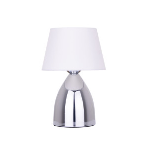VIDAL-W biała lampa stołowa E27 (wire)