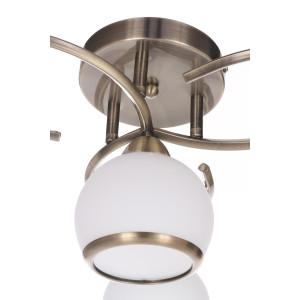 ZOE-4 antyczny mosiądz lampa  sufit żyrandol