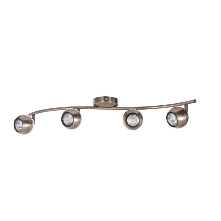 ALMA-4 antyczny mosiądz lampa sufitowa spot