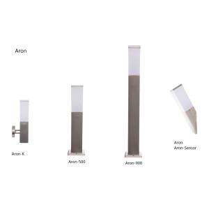 ARON-500 inox lampa ogrodowa