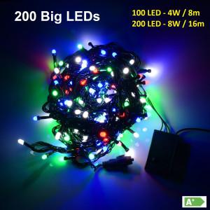 BL02-1 l.choink. zewn.BIG LED 200LED multi gn+pr