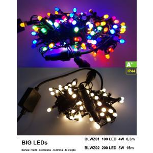 BLWZ01-2 l.choink 100LED BIG LED FLASH b.zimny gn.