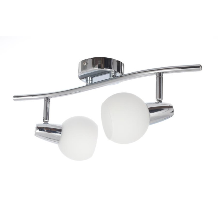 DAVID-2 chrom lampa  sufitowa spot E14