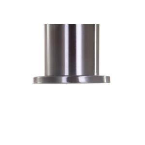 ELZA-500 inox lampa ogrodowa słupek 0,5m 1xE27