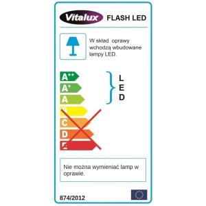 FL01-1 l.choinkowe zewn.100 LED z.biały FLASH gn.