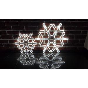 """GW60-2 biały zimny """"GWIAZDA""""  LED 60cm acryl"""